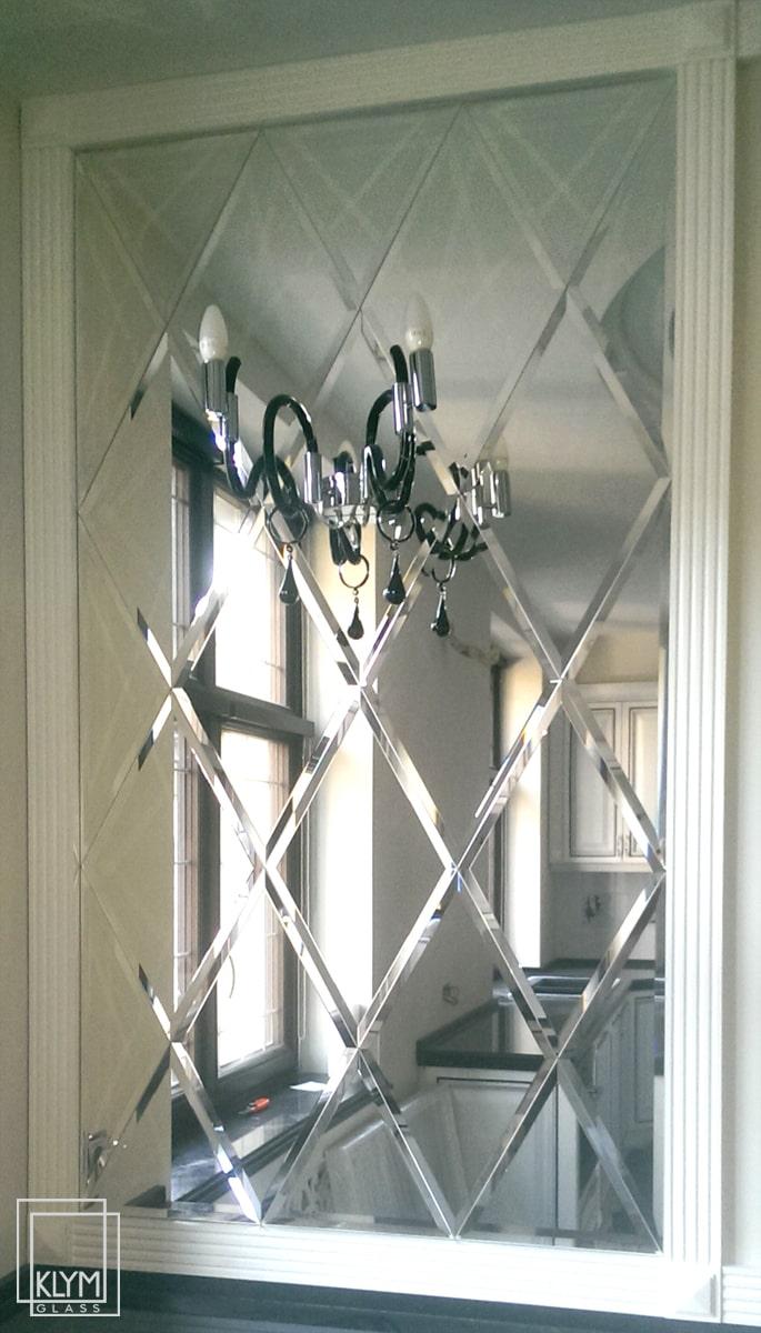 монтаж дзеркала на кухні
